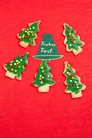 happy christmas: Christmas cookies, happy holidays