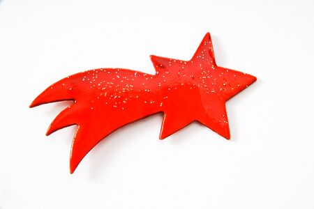 red star: Red star, Christmas decoration