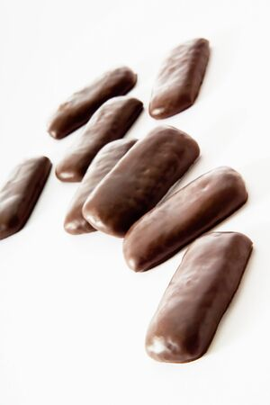 chocolate icing: Printen with chocolate icing