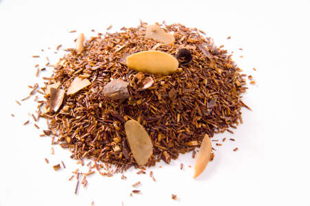 rooibos tea: Rooibos tea with allmond and cocoa, amaretto cream aroma