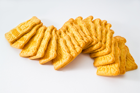 almond biscuit: Almond biscuits Stock Photo