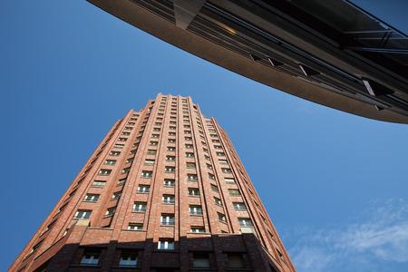 main: Germany, Frankfurt on Main, highrise buidling, Main Plaza office tower