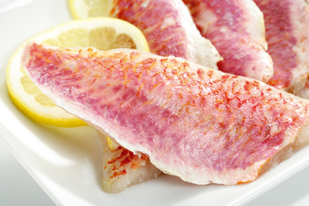 filets: Filets of sea barb, uncooked