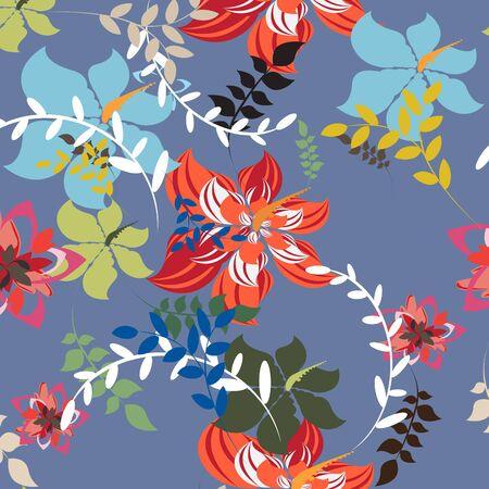 Seamples Flower illustration