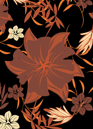 moss: Seamples  Spring Flower illustration