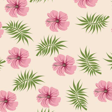 flower petals: Seamless  flower illustration  floral pattern texture art