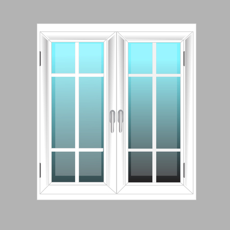 non   urban scene: Windows Plastic Glosed illustration interior White