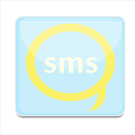 buble: icon sms vector button background buble art