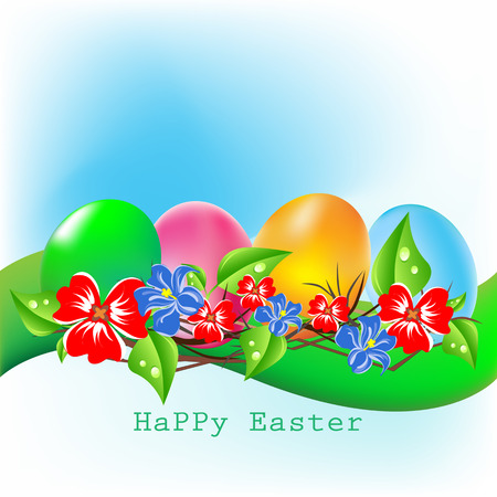 Easter egg vector illustration Illustration