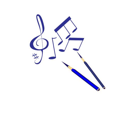 musik: Vector musik illustration