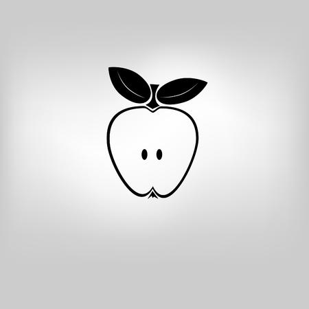vector icon apple Illustration