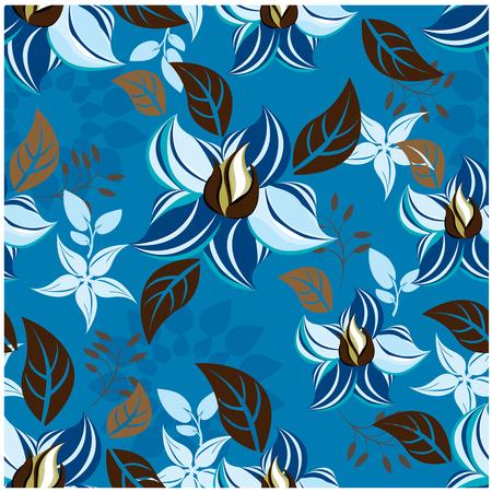 seamless flowers pattern Zdjęcie Seryjne