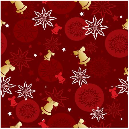 Christmas vector seamless pattern.