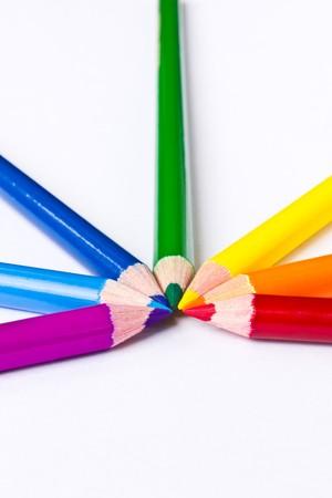 Rainbow Colour Pencil photo