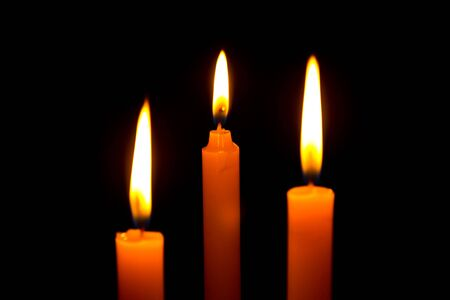 The three candle photo