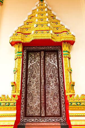 Thai Temple door photo