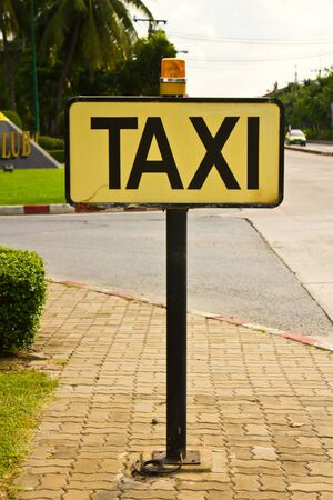 The Taxi Sign photo