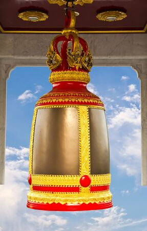 traditional thai style bell photo