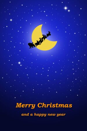 merry christmas - illustration illustration