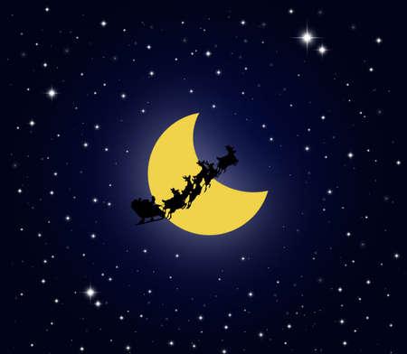 Santa claus merry christmas - illustration illustration