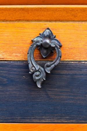 old vintage door knocker photo
