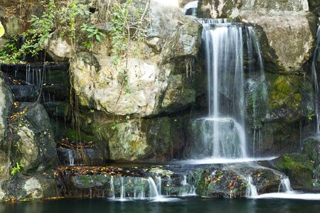 water fall in thailand photo