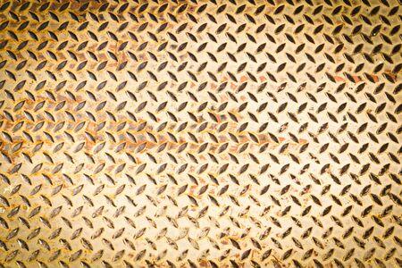 piastra acciaio: trama piastra in acciaio Diamon per sfondo Archivio Fotografico