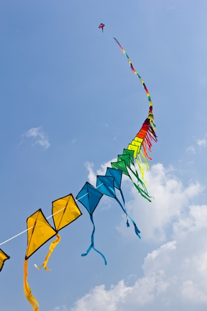 colorful fo kite Stock Photo - 8820363