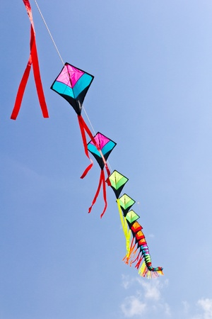 colorful fo kite Stock Photo - 8820347