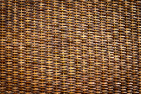 black rattan wood texture photo