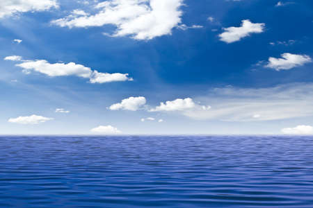 beautiful sea and blue sky Stock Photo - 9715193