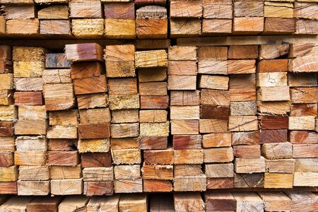 stack of wood logs for background Stock Photo - 9998600