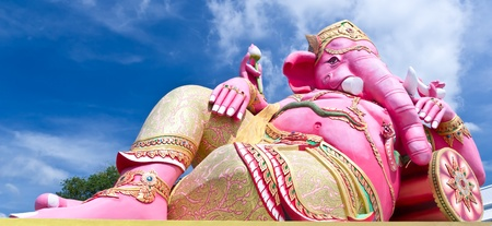 siddhivinayaka: pink ganesha, number one largest statue in Thailand