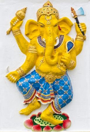 siddhivinayaka: Indian or Hindu God Named Naritaya Ganapati at temple in thailand
