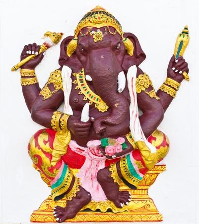 siddhivinayaka: Indian or Hindu ganesha God Named Kasipra Ganapati at temple in thailand