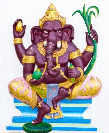 siddhivinayaka: Indian or Hindu ganesha God Named Bala Ganapati at temple in thailand
