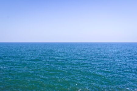 beautiful sea and blue sky for background Stock Photo - 11561924