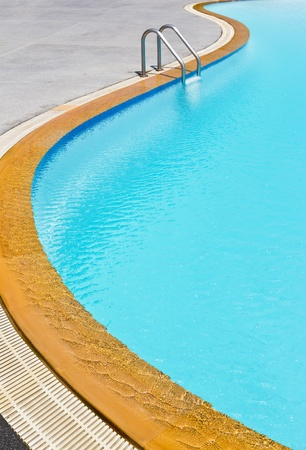 swimming pool ladder photo