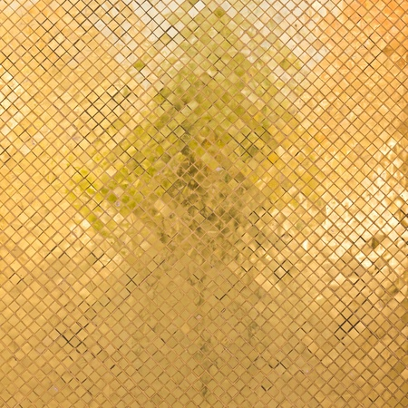 grunge golden mosaic for background photo