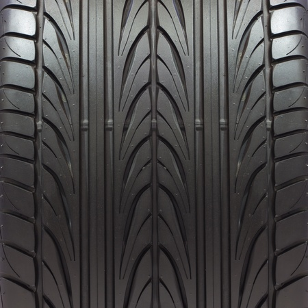 tyre tread: new tire texture