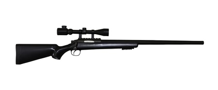 airgun rifle isolated  photo