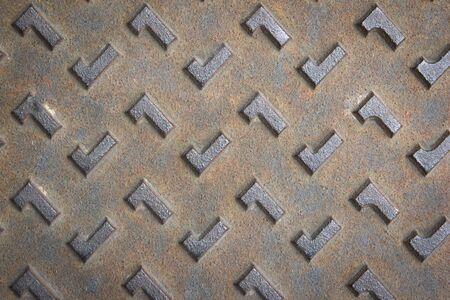 grunge steel texture for background photo