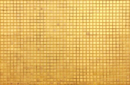 golden mosaic for background photo