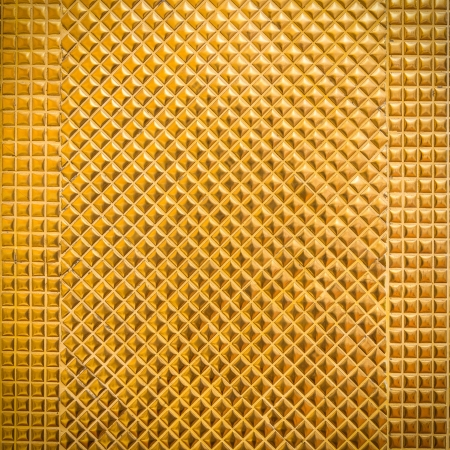 golden mosaic for background Stock Photo