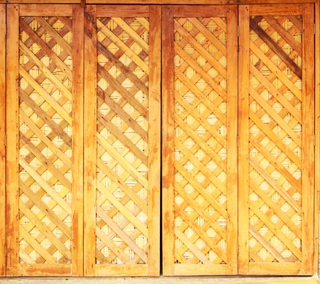 vintage wooden door photo