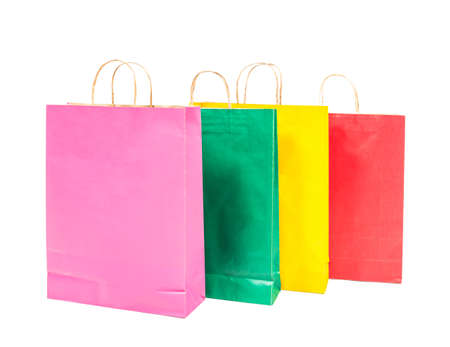colorful shopping bags photo