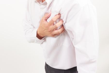 attacco cardiaco: attacco di cuore Archivio Fotografico