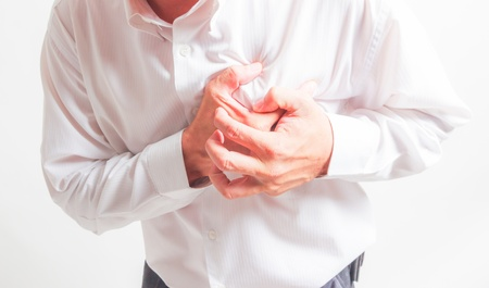 heart attack Stockfoto