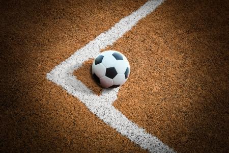 kickball: football field conner
