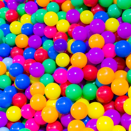 color balls: colorful ball for background Stock Photo